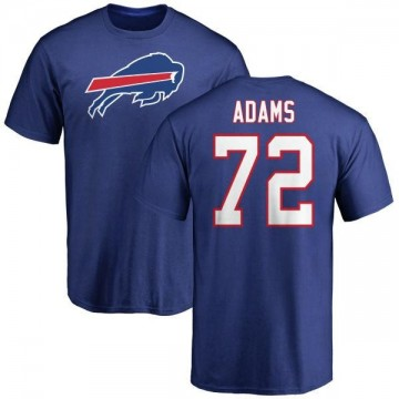 Men's Trey Adams Buffalo Bills Name & Number Logo T-Shirt - Royal
