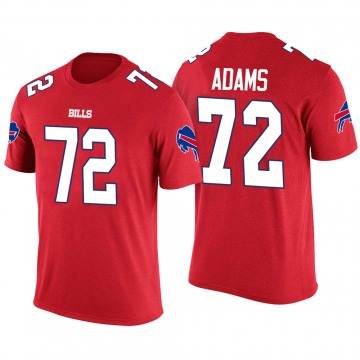 Men's Trey Adams Buffalo Bills Red Color Rush Legend T-Shirt