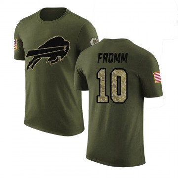 Youth Jake Fromm Buffalo Bills Olive Salute to Service Legend T-Shirt