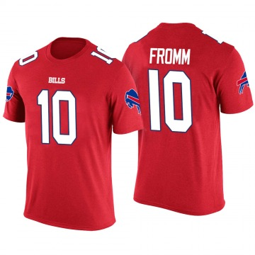 Youth Jake Fromm Buffalo Bills Red Color Rush Legend T-Shirt